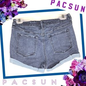 PACSUN LOS ANGELES Dark Denim Shorts